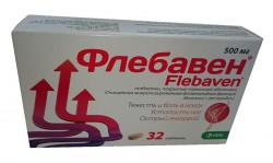 Флебавен, табл. п/о пленочной 500 мг №32