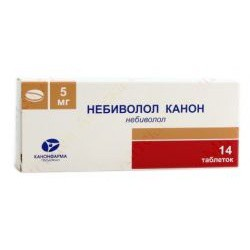 Небиволол Канон, табл. 5 мг №14